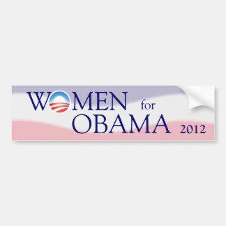 Mujeres para la pegatina para el parachoques 2012  pegatina para auto