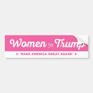 Mujeres para la pegatina para el parachoques 2016 pegatina para auto