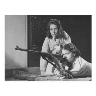 Mujeres para la segunda enmienda - vintage postales
