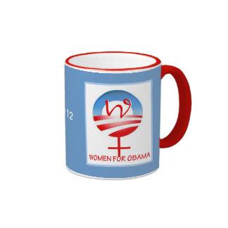 Mujeres para la taza de Obama III