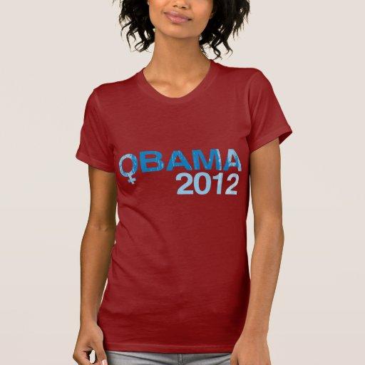 Mujeres para OBAMA 2012 - Vintage.png Camiseta