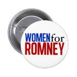 Mujeres para Romney Pins