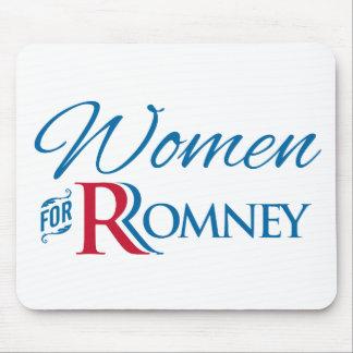 Mujeres para Romney Tapete De Ratones