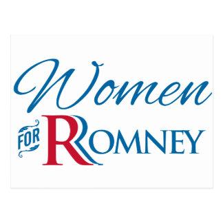 Mujeres para Romney Postal