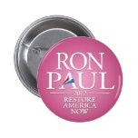 Mujeres para Ron Paul 2012 Pin