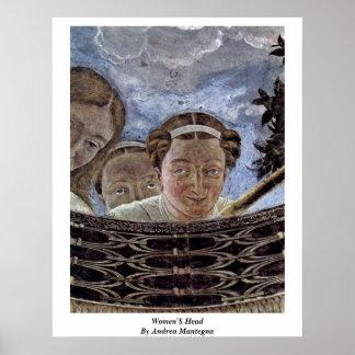 Mujeres principales por Andrea Mantegna Impresiones