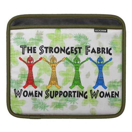 Mujeres que apoyan a mujeres manga de iPad
