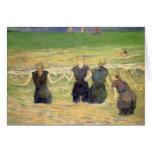 Mujeres que bañan Dieppe, Gauguin, impresionismo Tarjeta De Felicitación