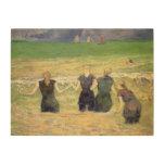 Mujeres que bañan Dieppe, Gauguin, impresionismo Impresiones En Madera