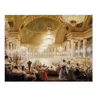 Mujeres que cenan en el Tuileries en 1835 Tarjetas Postales