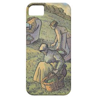 Mujeres que recolectan setas, 'del campeón del DES iPhone 5 Carcasas