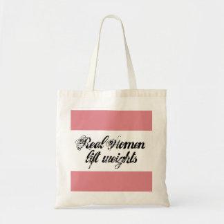Mujeres reales bolsa tela barata