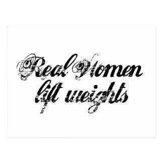 Mujeres reales postal