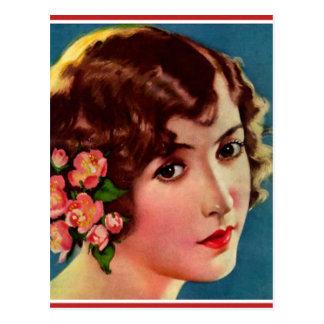 Mujeres retras 20s Hollywood Bessie Love del Postal