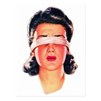 Mujeres retras del anuncio 50s del kitsch del postales