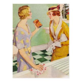 Mujeres retras postales