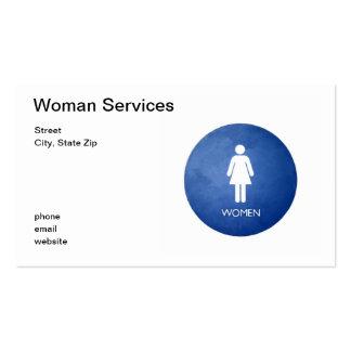 Mujeres, servicios de la mujer, calle, ciudad, tarjetas de visita