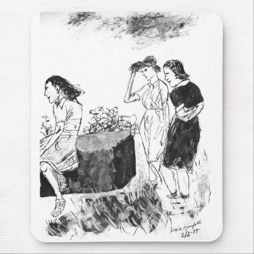 Mujeres Tapete De Raton