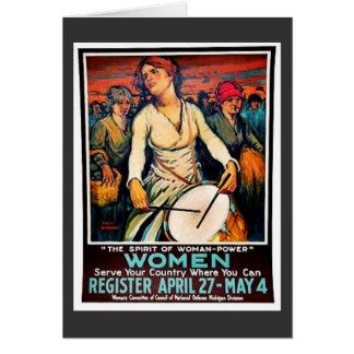Mujeres Tarjeta