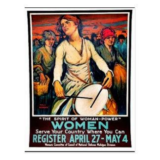 Mujeres Tarjetas Postales