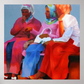 Mujeres turcas en Estambul Posters