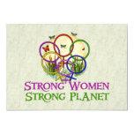 Mujeres unidas invitación 12,7 x 17,8 cm