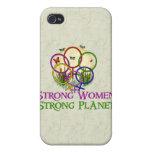 Mujeres unidas iPhone 4 fundas