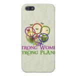 Mujeres unidas iPhone 5 protectores