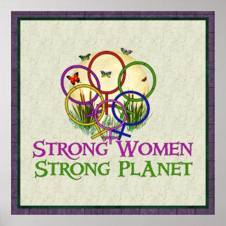 Mujeres unidas impresiones