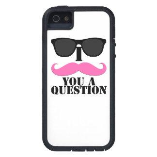 Mujeres usted bigote de los las de para del pregun iPhone 5 Case-Mate protector