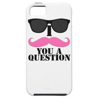 Mujeres usted bigote de los las de para del pregun iPhone 5 Case-Mate protectores