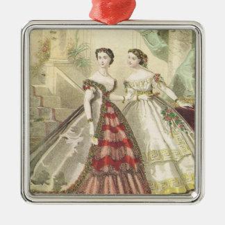 Mujeres V2 de los 1860s del vintage Ornatos
