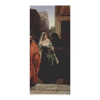 Mujeres venecianas de Francisco Hayez- Lona