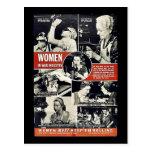 Mujeres Ww2 Postal