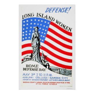 Mujeres WWII de Long Island WPA 1941 Impresiones