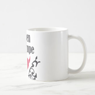 Mujerzuela de barra 2 taza de café