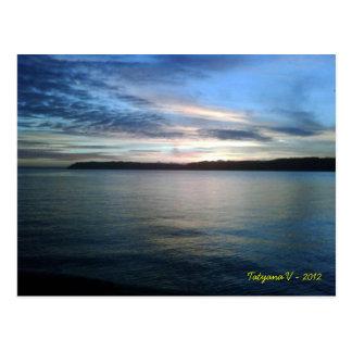 Mukilteo Bay Postcard