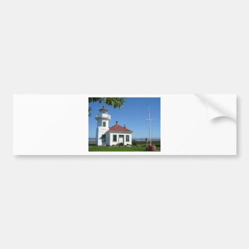 Mukilteo Lighthouse Bumper Stickers