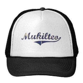 Mukilteo Washington Classic Design Hats