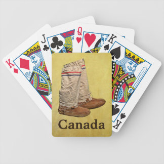 Mukluks Bicycle Playing Cards
