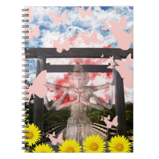 Muko mallow and Asura and Ise shrine Notebook