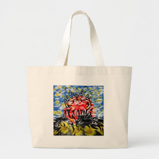 Muko mallow and cat and Matsuyama castle Tote Bag