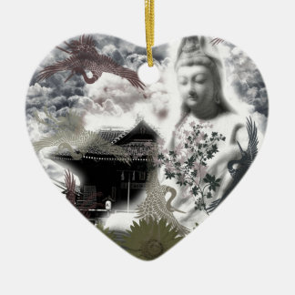 Muko mallow and the Merciful Goddess 菩 薩 with prin