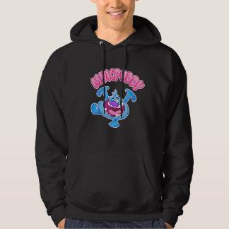 Mukpuddy Blue Dude - Black Hoodie