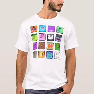 "Mukpuddy - ""Muklings"" basic white t-shirt"