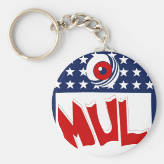 "MUL ""nfl"" Key Chain"