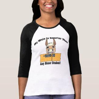Mula lista (moreno) camisetas