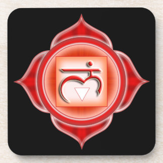 Muladhara or Root  the 1st Chakra Beverage Coaster