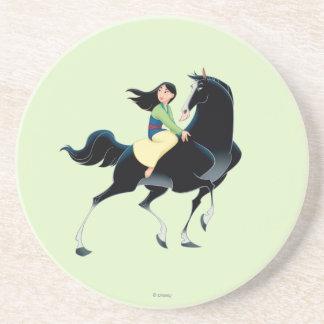 Mulan and Khan Drink Coaster
