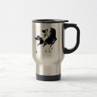 Mulan and Khan Travel Mug